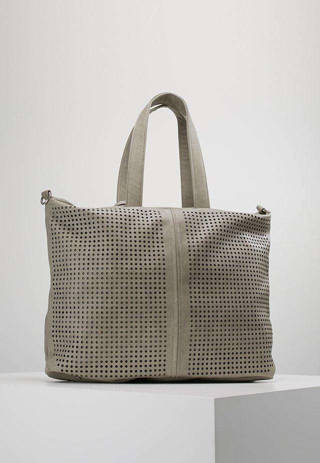 JAMESTOWN WALES - Shopping Bag - light ash perf