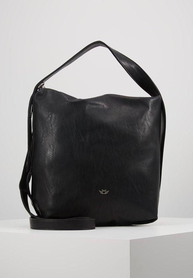 ANNI SADDLE - Handbag - black