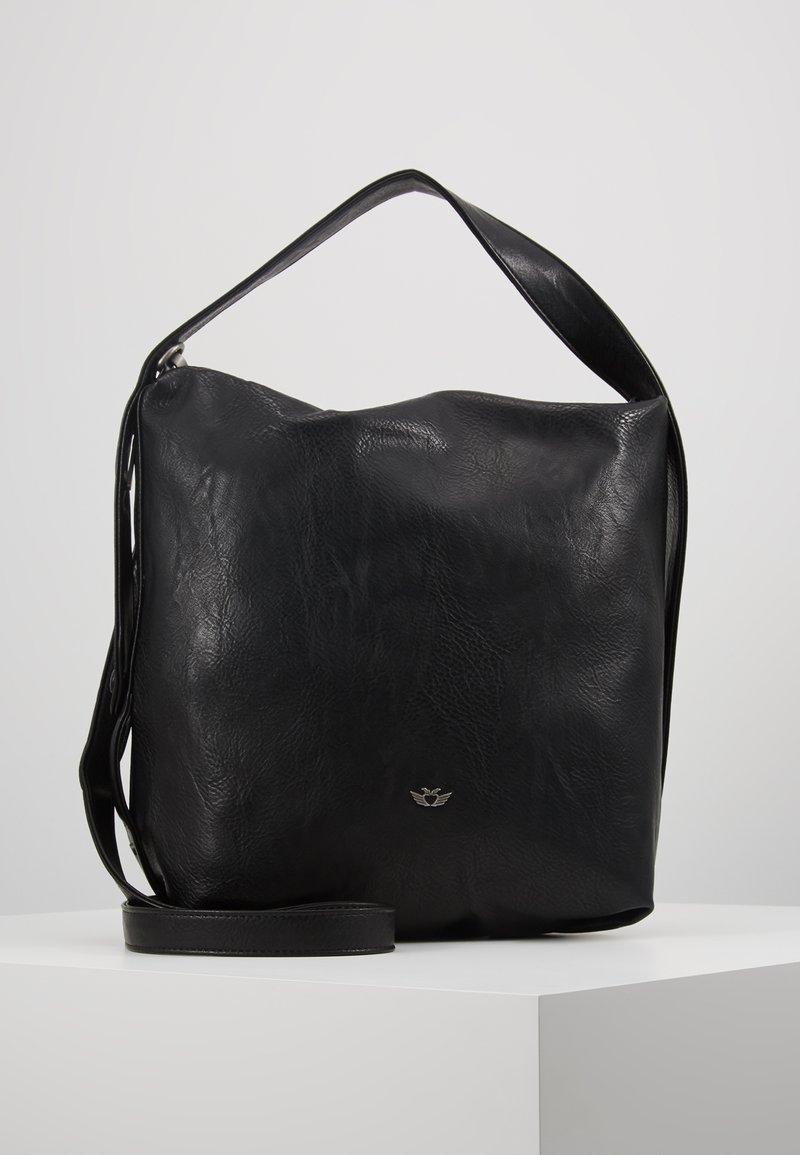 Fritzi aus Preußen - ANNI SADDLE - Handtasche - black
