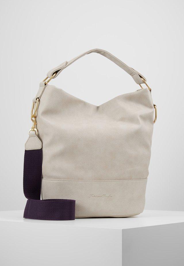 OLGA BIG CARIBO - Handväska - light beige