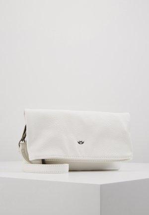 RONJA SMAL - Taška spříčným popruhem - white