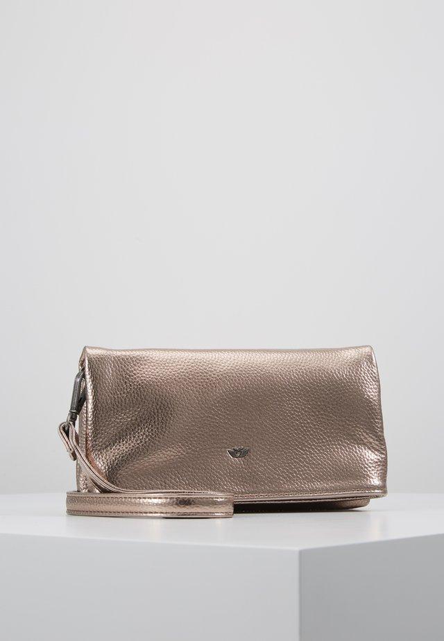 RONJA SMAL - Across body bag - bronze
