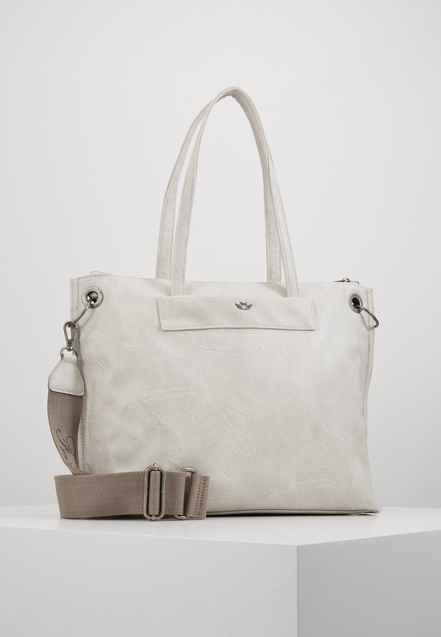 BELIA - Shopping bag - light grey
