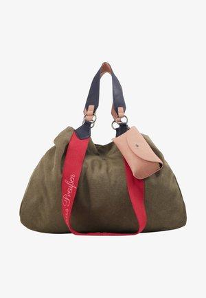IZZY - Tote bag - olive