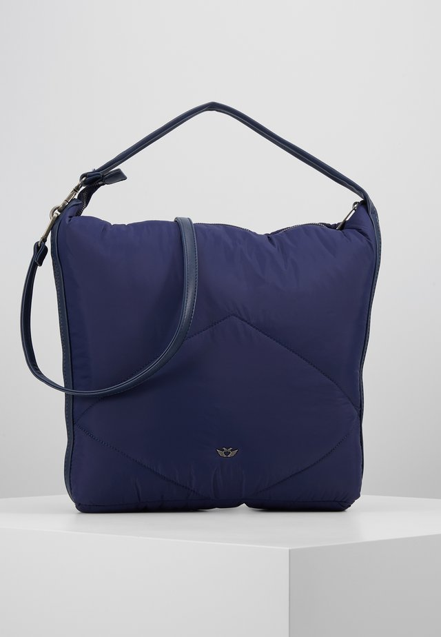 DAVIE - Shopping Bag - navy
