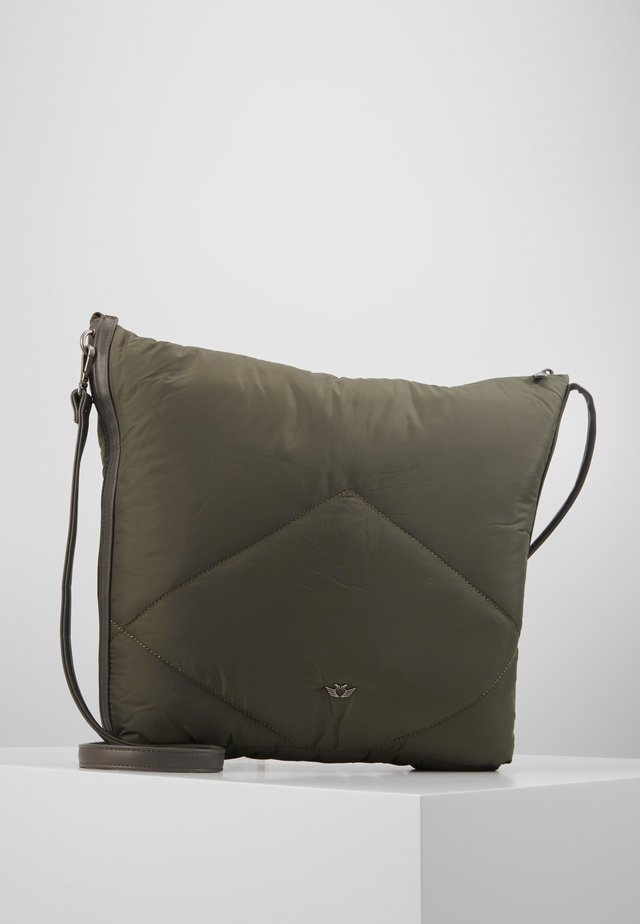 DAVIE - Shopping Bag - olive