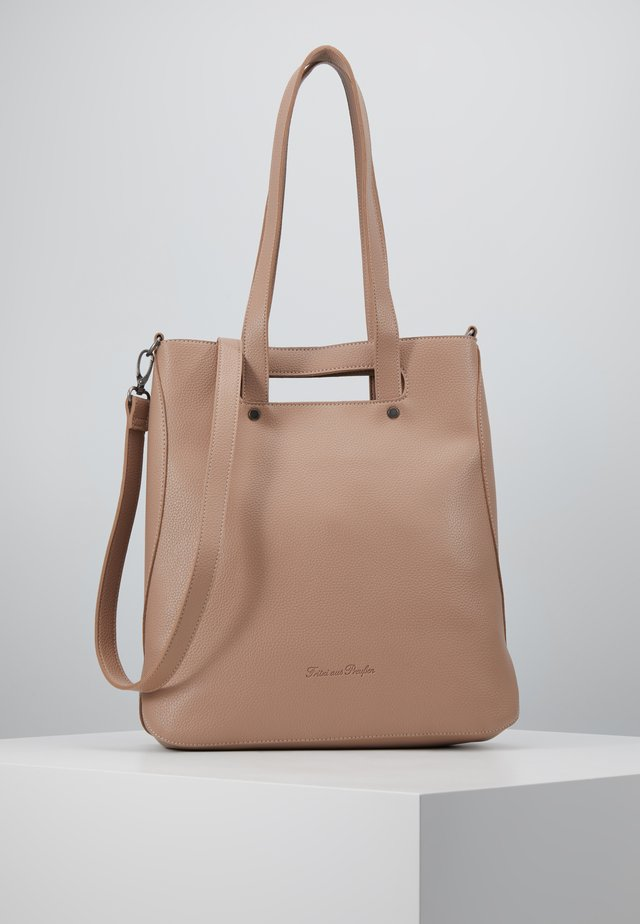 AUBRIE - Shopping Bag - rose stone
