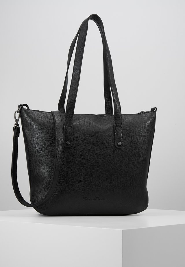 ALUISA - Shopping bag - black