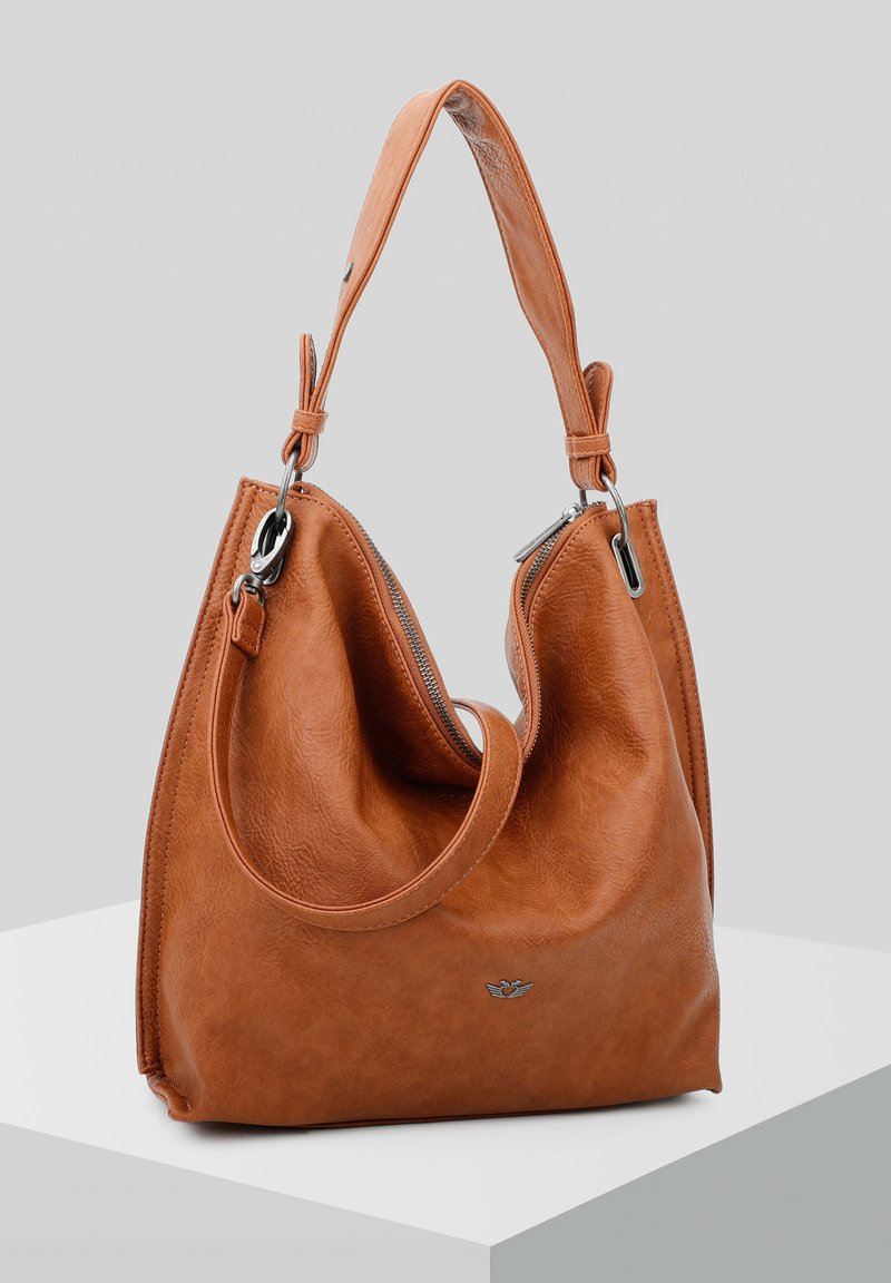 Fritzi aus Preußen - HOBO PHILIPPA SADDLE - Shopping Bag - cognac