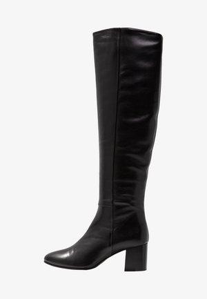 JADE HIGH BOOT - Kozačky nad kolena - black
