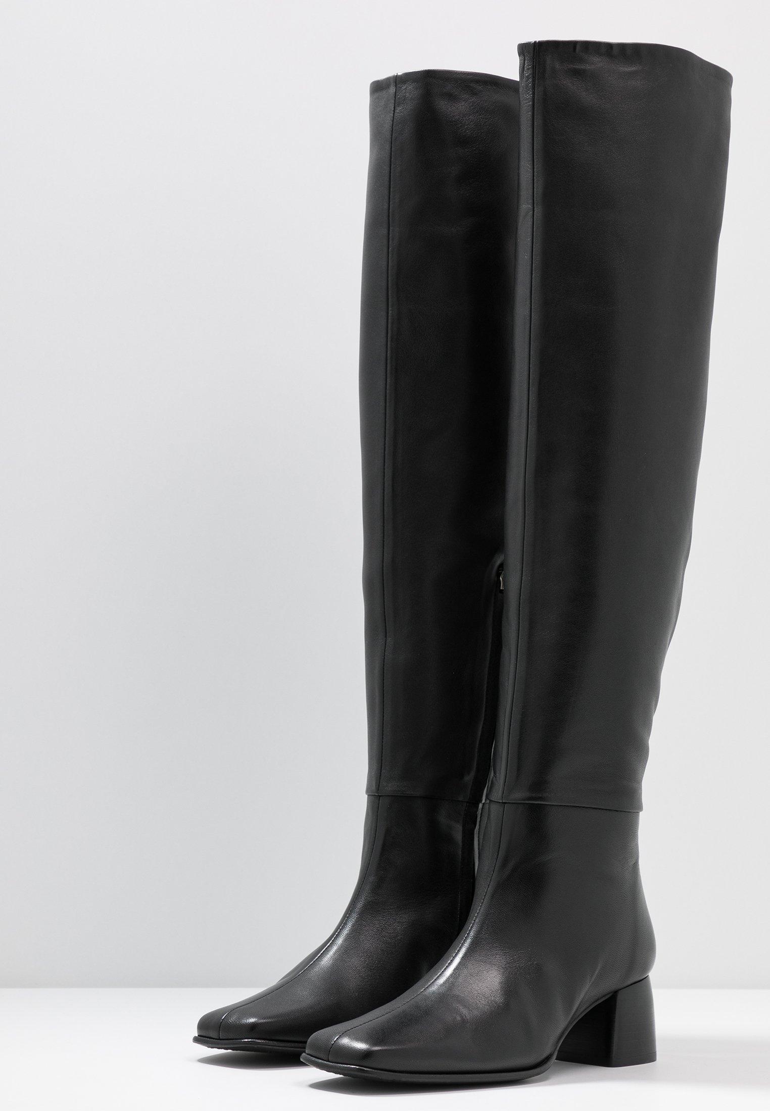 K CAMILLE HIGH Filippa BOOTCuissardes black 7gbyIYf6vm