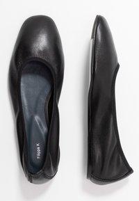 Filippa K - REY FLAT - Ballerinat - black - 3