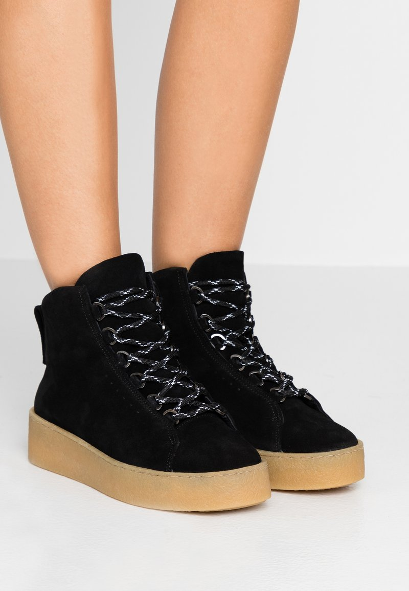 Filippa K - ANNA WINTER LACED - Boots à talons - black