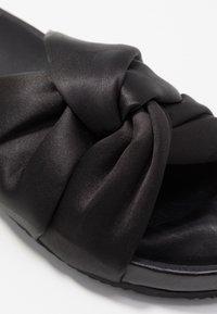 Filippa K - BREA  - Pantofle - black - 2