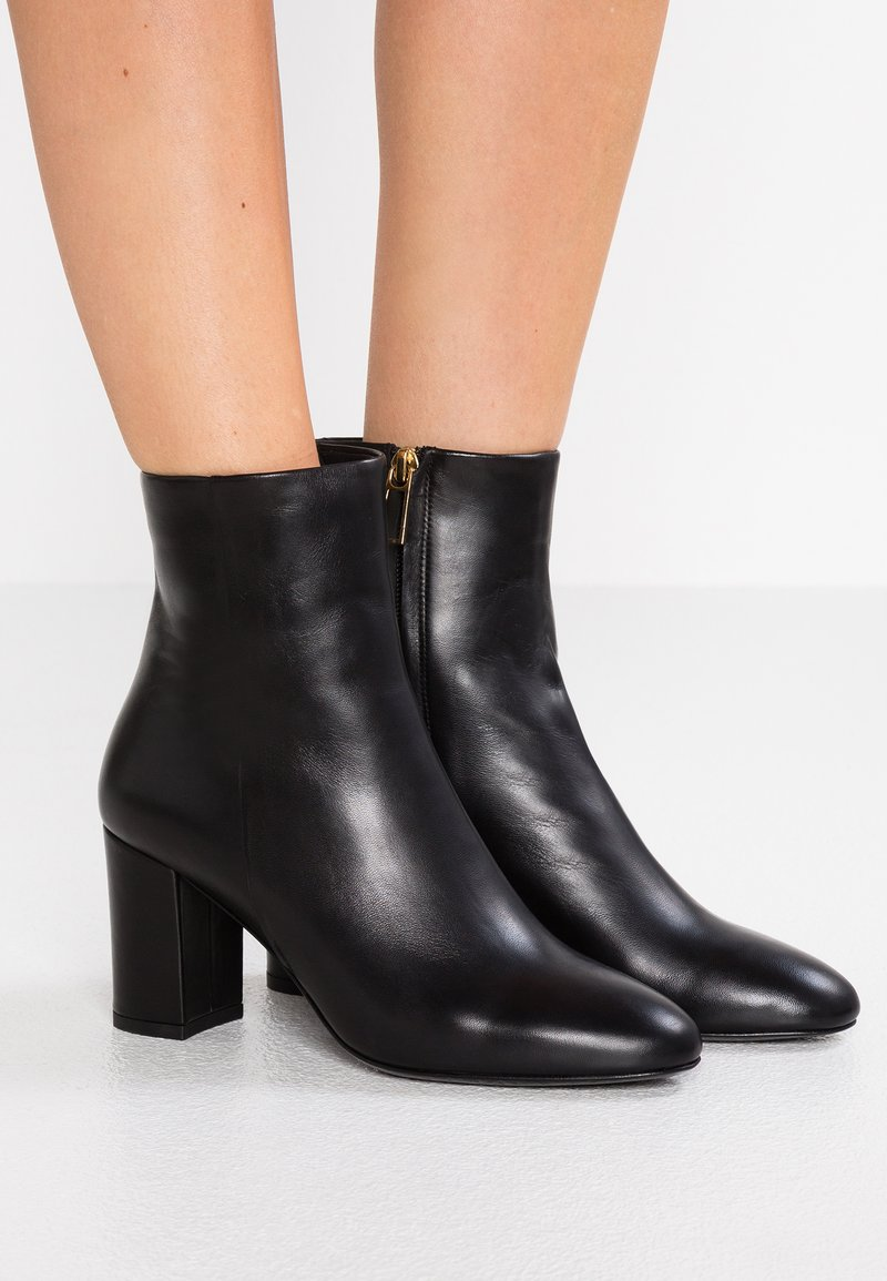Filippa K - MIRANDA HIGH BOOTIE - Classic ankle boots - black