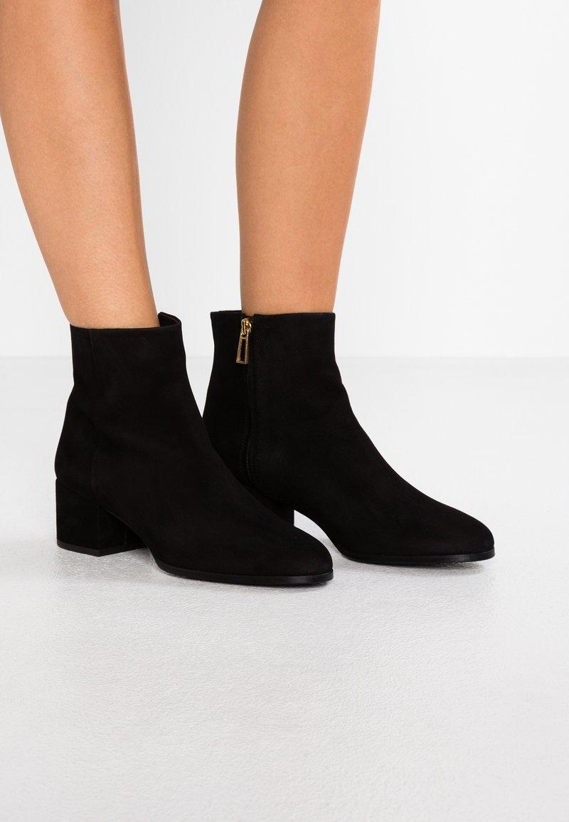 Filippa K - SILKE MID - Ankle Boot - black