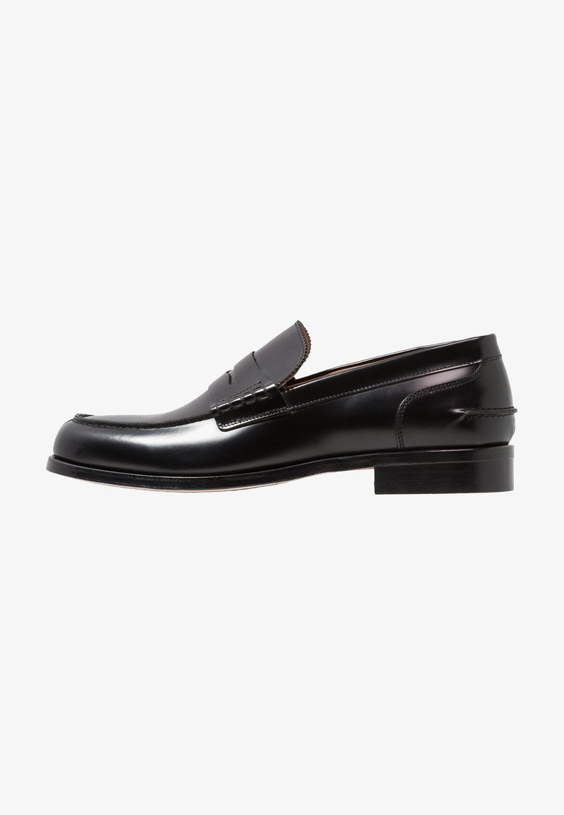 Filippa K - LOAFER - Smart slip-ons - shiny blac