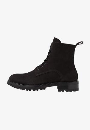 MAX BOOT - Snørestøvletter - black