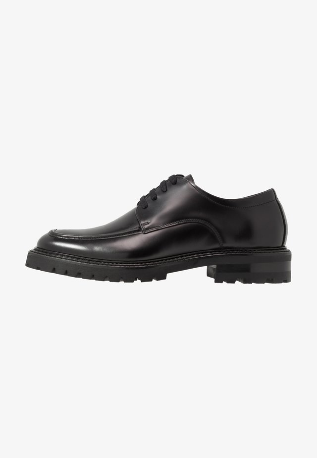 PRESTON LACE UP SHOE - Eleganta snörskor - black