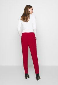 Filippa K - FIONA PEG - Trousers - pure red - 2