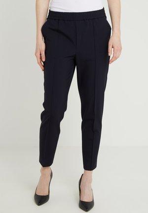 FIONA PEG - Spodnie materiałowe - navy