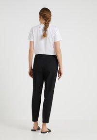 Filippa K - FIONA PEG - Trousers - black - 2
