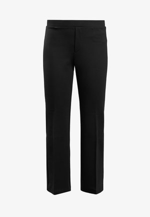 POE CROPPED PANT - Broek - black