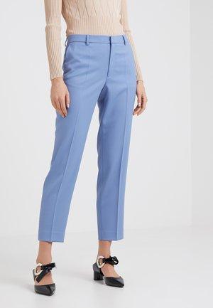 EMMA TROUSERS - Pantalon classique - paris blue