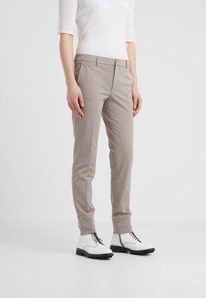 SOPHIA STRETCH TROUSERS - Trousers - taupe