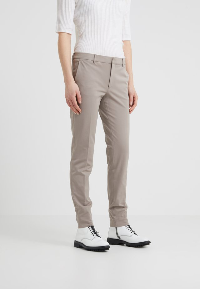 SOPHIA STRETCH TROUSERS - Tygbyxor - taupe
