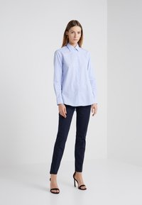 Filippa K - SOPHIA STRETCH TROUSERS - Broek - navy - 1
