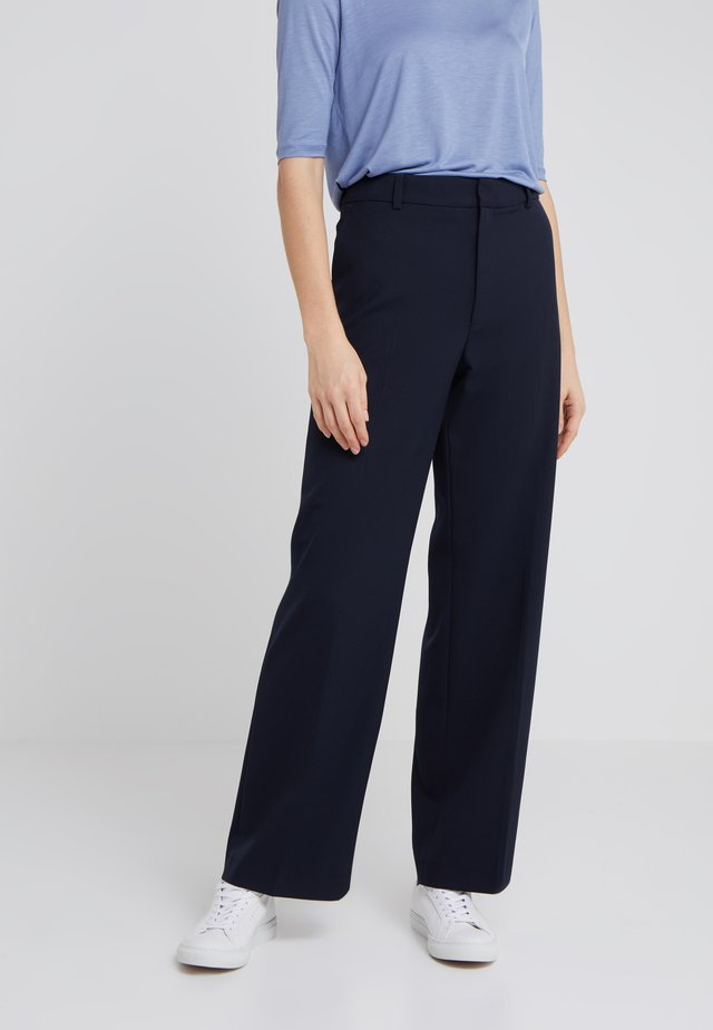 HUTTON TROUSERS - Tygbyxor - navy