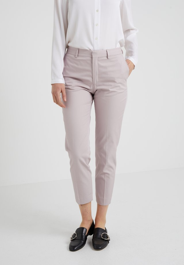 EMMA TWILL TROUSERS - Trousers - frosty pin