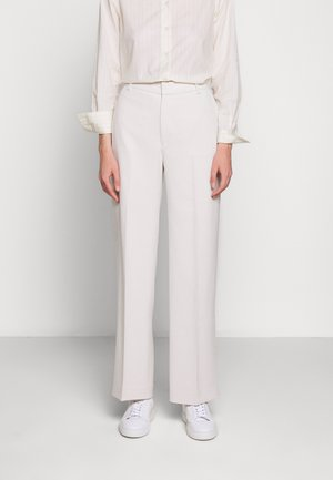 HUTTON TROUSERS - Bukser - ivory