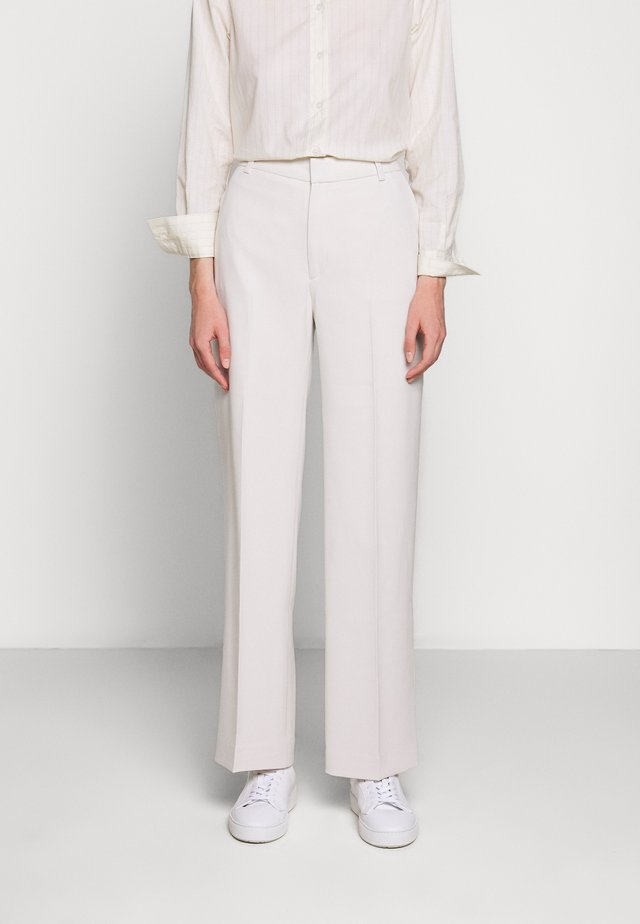 HUTTON TROUSERS - Broek - ivory