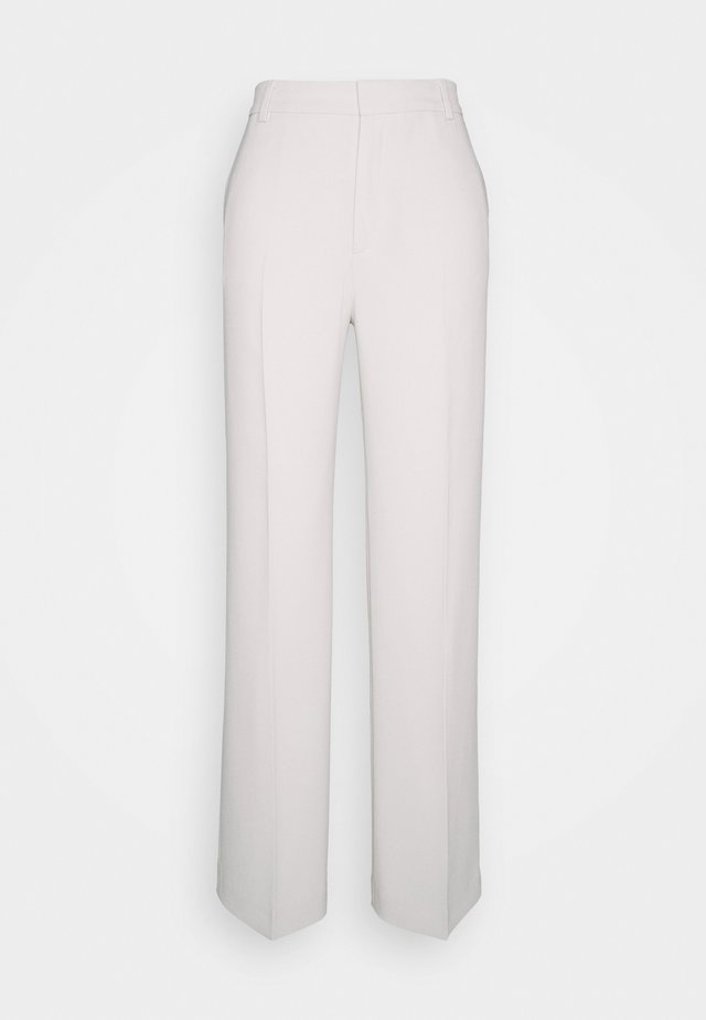 HUTTON TROUSERS - Tygbyxor - ivory
