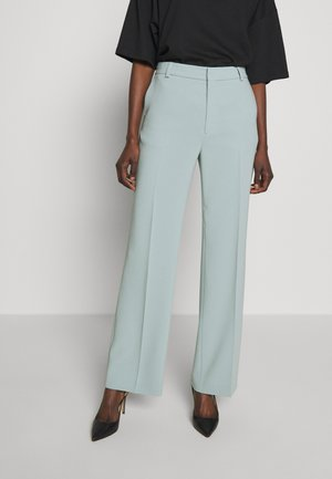 HUTTON TROUSERS - Stoffhose - mint powder