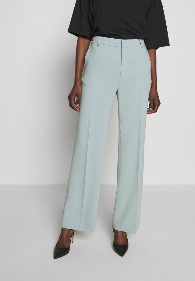 HUTTON TROUSERS - Tygbyxor - mint powder