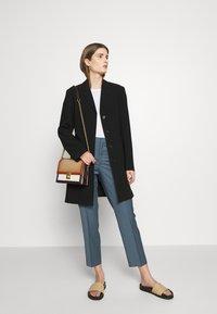 Filippa K - EMMA CROPPED COOL TROUSER - Trousers - blue grey - 1