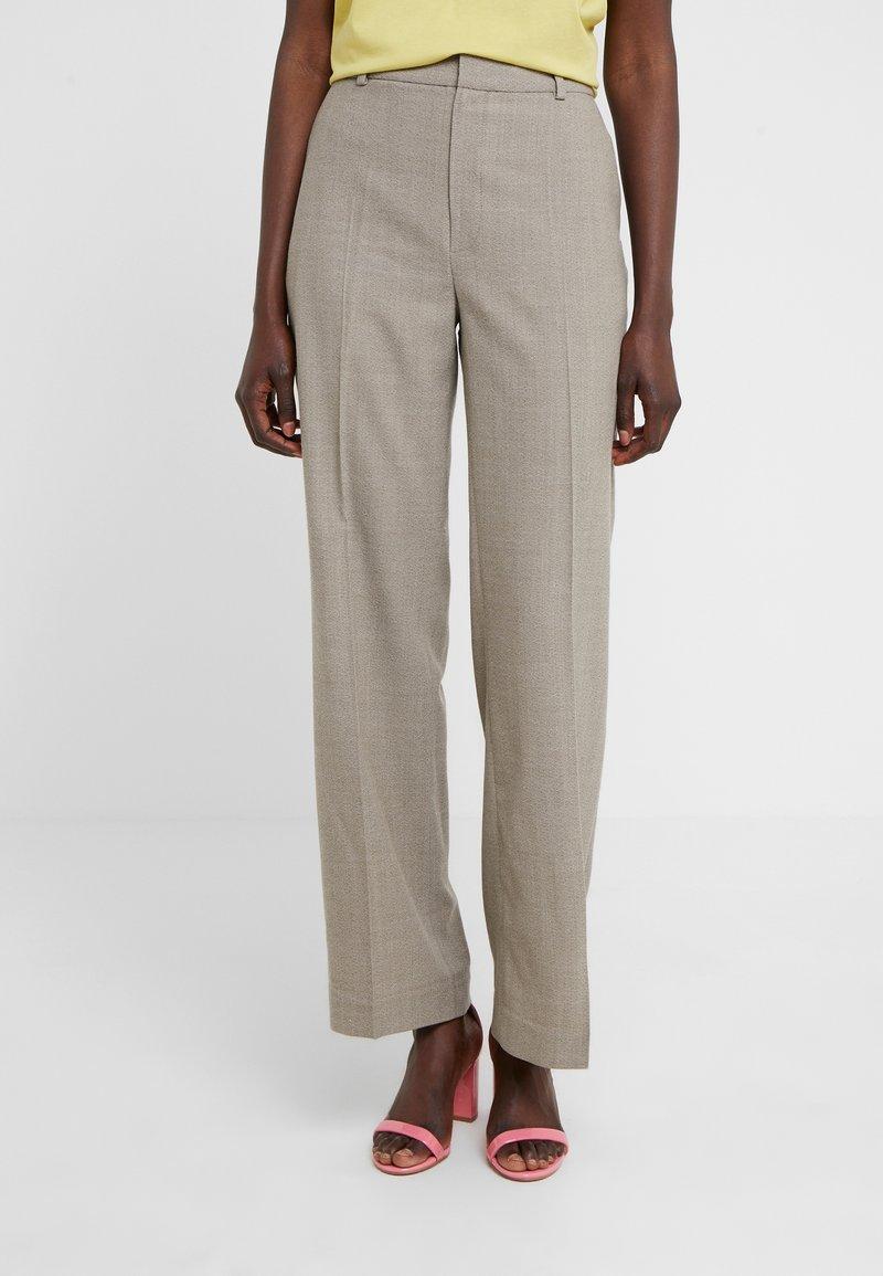 Filippa K - HUTTON TROUSER - Trousers - beige