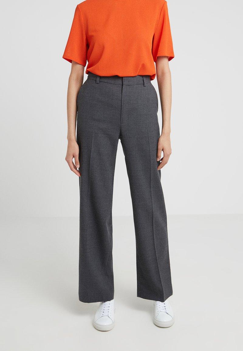 Filippa K - HUTTON TROUSER - Pantalones - mid grey