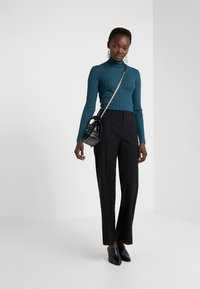 Filippa K - HUTTON TROUSER - Trousers - black - 1