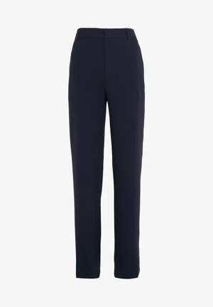 HUTTON CREPE TROUSER - Trousers - navy