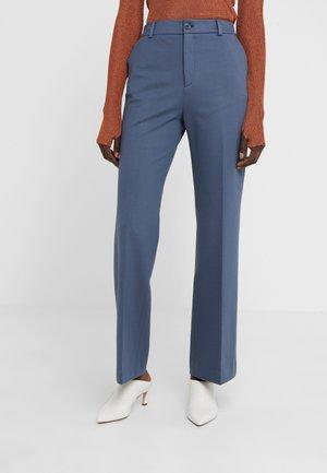 IVY TROUSER - Spodnie materiałowe - blue grey