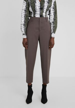 KARLIE TROUSER - Trousers - taupe