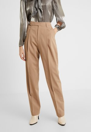 JULIE TROUSER - Broek - dark khaki