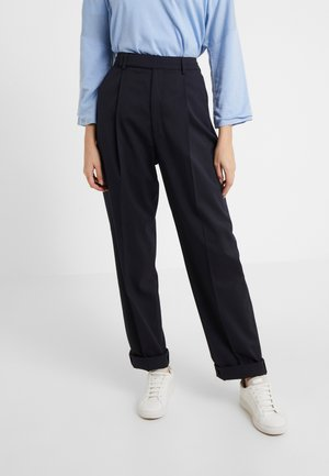 JULIE TROUSER - Trousers - deep blue