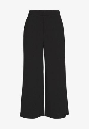 NAIA TROUSER - Spodnie materiałowe - black