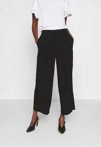 Filippa K - NAIA TROUSER - Trousers - black - 0