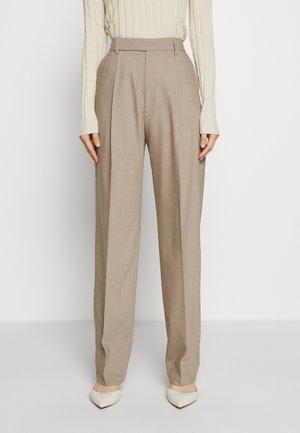 JULIE TROUSER - Pantaloni - beige